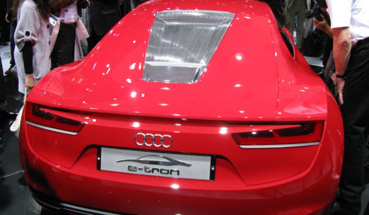 Audi: More Electrics, Plug-Ins and Diesels on the Way