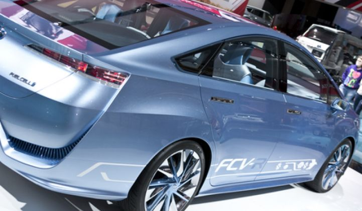 Should California Reconsider Its Policy Support for Fuel-Cell Vehicles?