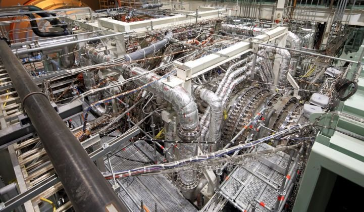 Ge Gas Turbine >> A Look At Ge S New State Of The Art Gas Turbines Greentech Media