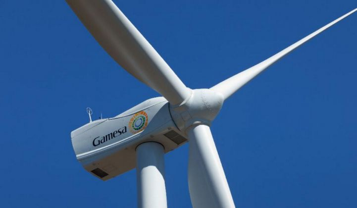 Wind Power Giant Gamesa Combines Solar, Diesel and Storage for Off-Grid Prototype