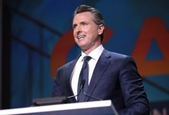 Newsom is demanding financial and safety guarantees from PG&E. (Gage Skidmore, Flickr/Creative Commons)