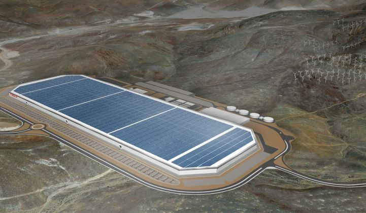 Tesla and Panasonic Kick Off Battery Production at the Gigafactory