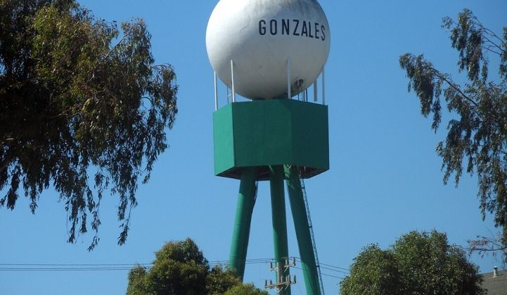 Gonzales' project could serve as a model for California municipalities. (Photo: City of Gonzalez)