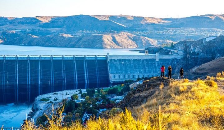At 6.8 GW, the Columbia River's Grand Coulee Dam ranks as the largest U.S. generating facility.