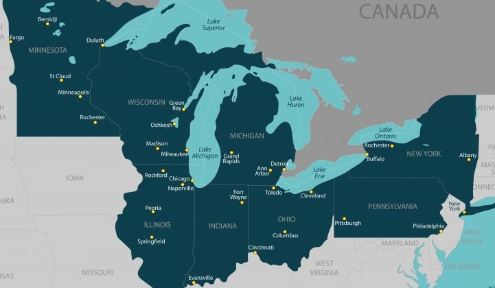 Illinois and New York have both shown recent interest in Great Lakes offshore wind.