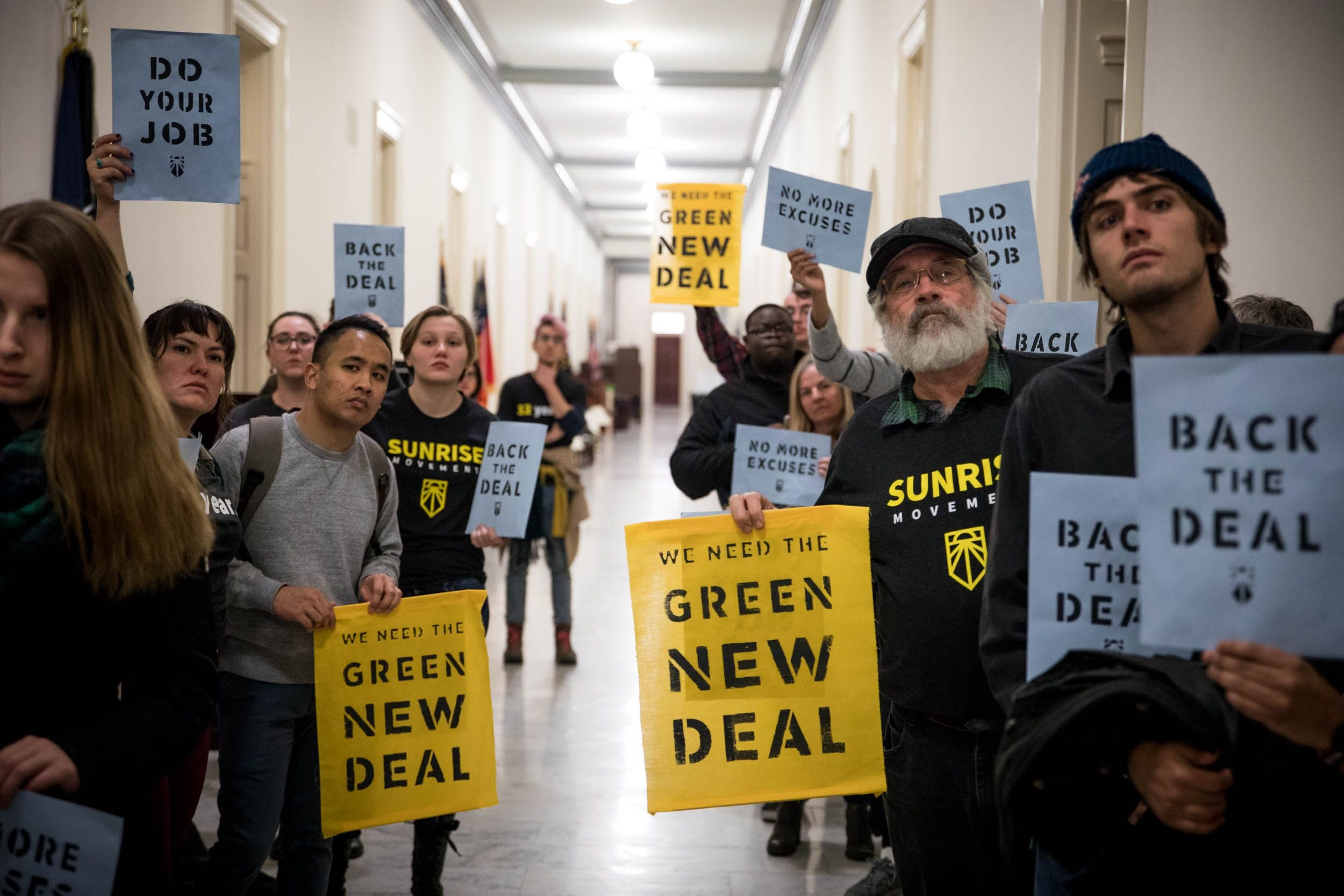 The Green New Deal has a lot of support across party lines.