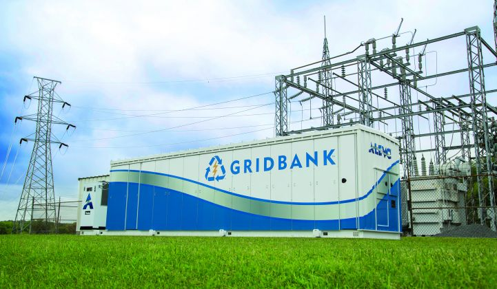 Innolith's final acquisition was Alevo's only operational GridBank battery system.