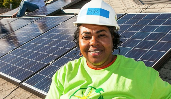 The solar industry must improve diversity in hiring.