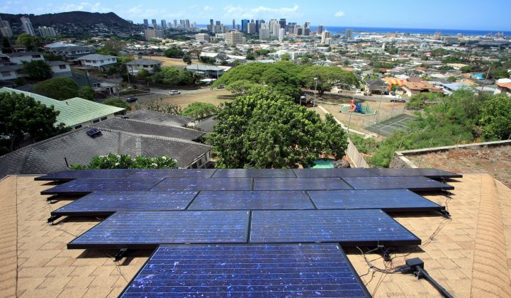 Rooftop solar is the largest source of renewable power in Hawaiian Electric's territory, accounting for nearly half of its renewable production.
