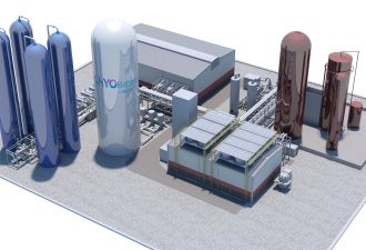 Highview Power uses readily available equipment to store liquid air and release electricity on demand.
