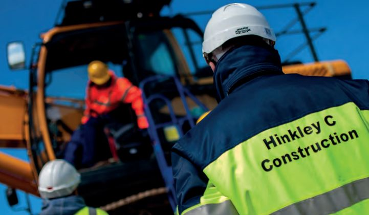 Britain won't derail plans to support the Hinkley Point C nuclear plant.