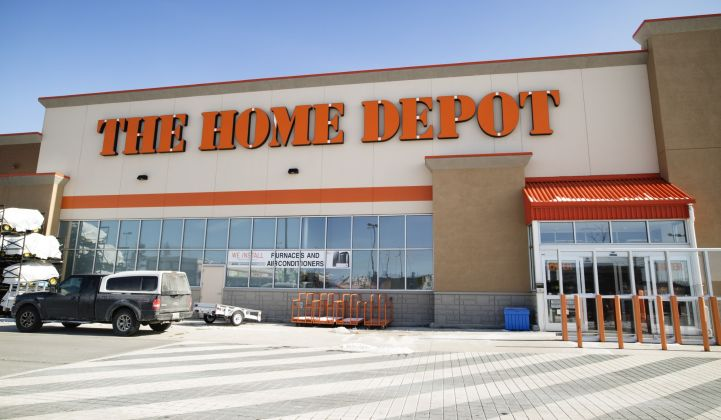The Home Depot has an ambitious vision for its carbon emissions, and clean energy plays a role.