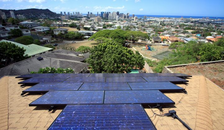 Hawaii's solar made it through Lane, but the storm highlighted vulnerabilities.