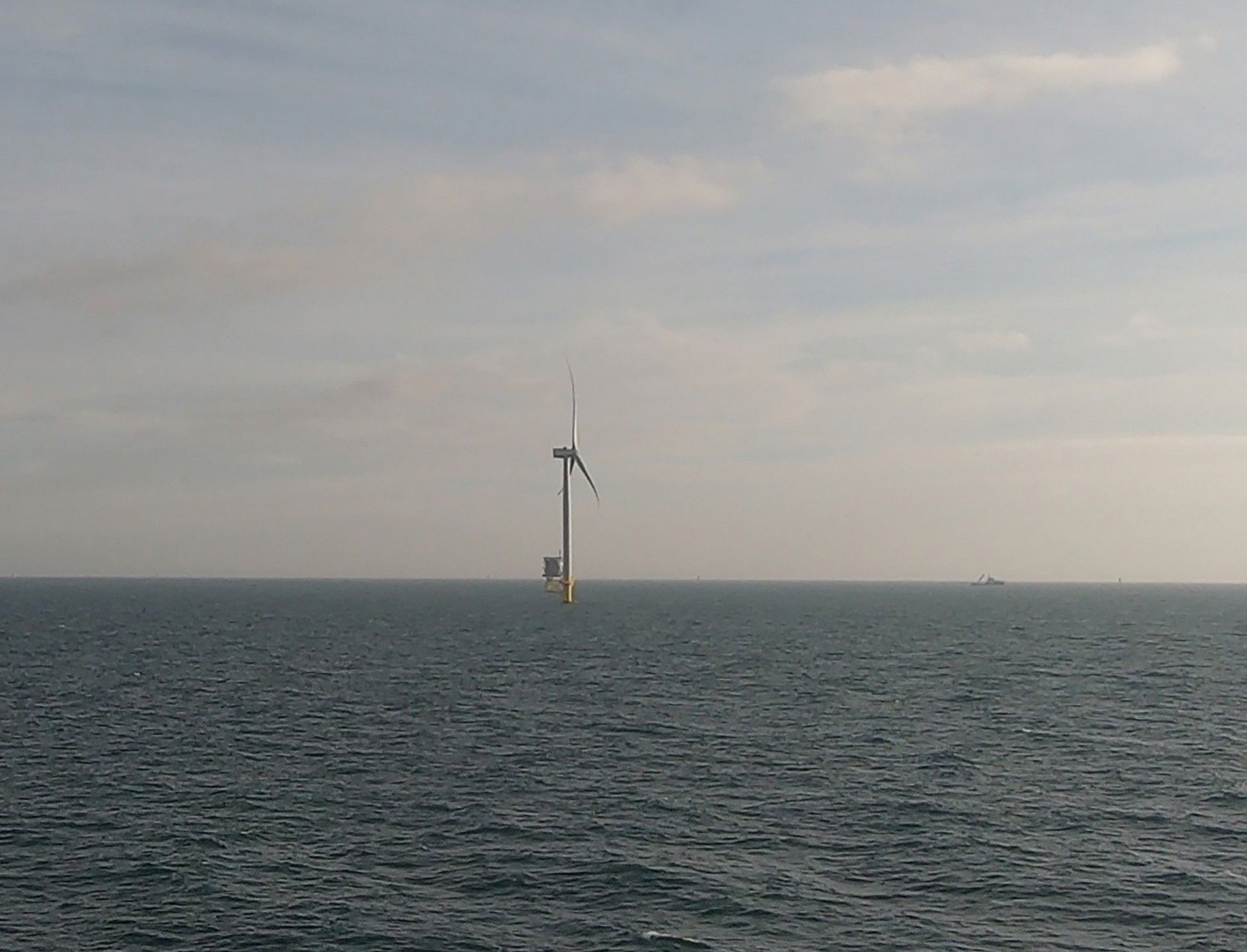Mainstream has worked on a number of offshore wind projects, including the 3 GW Hornsea project in the U.K., later sold to Ørsted. (Credit: Ørsted)