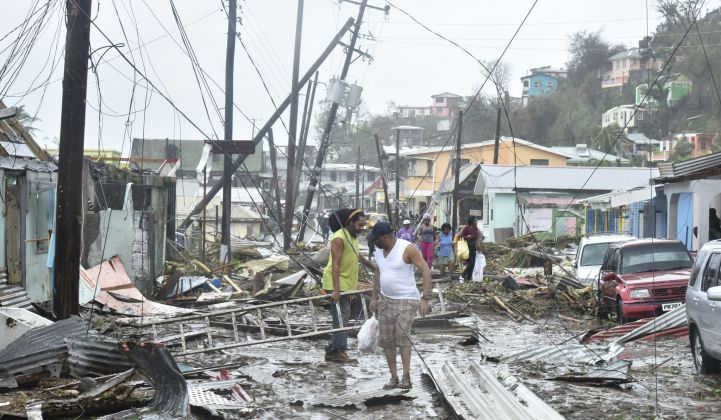 Hurricanes Cause 'Apocalyptic' Devastation to Caribbean Power Grids