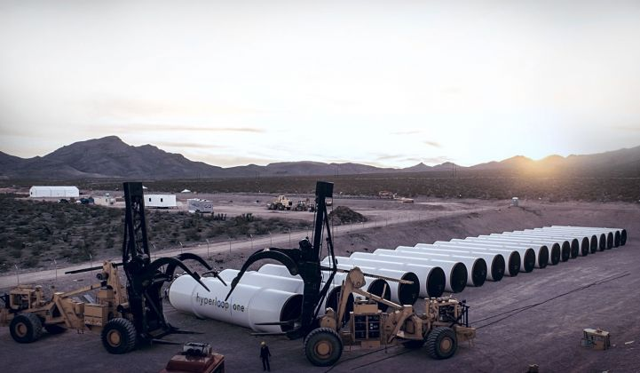 Hyperloop One Just Raised $50 Million and Hired Uber's Former CFO