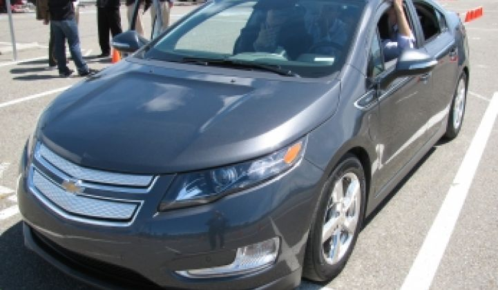 Texas, New York Early Markets for Chevy Volt
