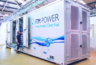 Demand for electrolyzers is booming, though recent announcements predate the coronavirus outbreak. (Credit: ITM Power)