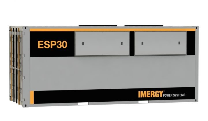 Imergy Returns to the Scene With Low-Cost Flow Battery