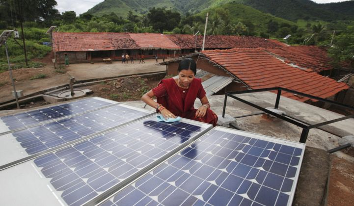 How Big Dollars Are Catalyzing India's Small-Scale Solar Market