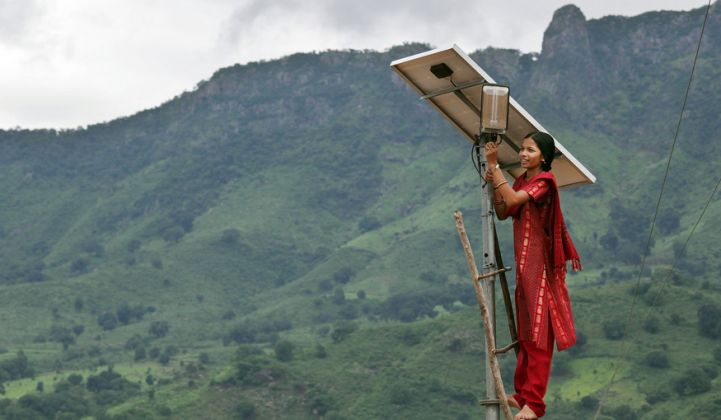 How to Light the Off-Grid World With Solar in a Decade