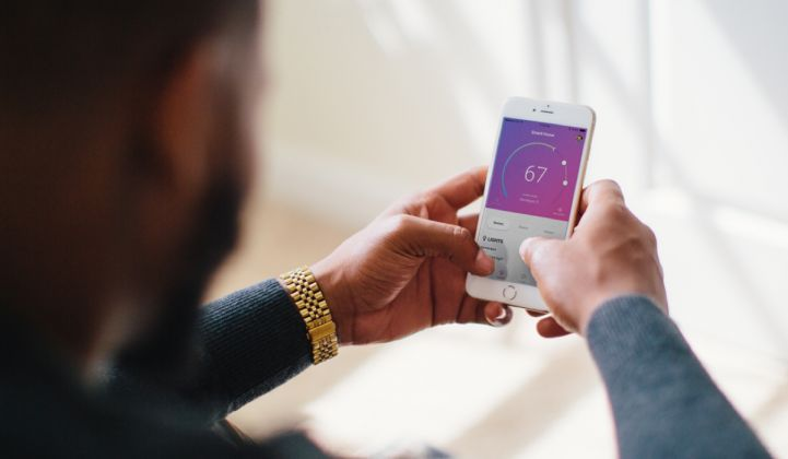 When customers save energy, Inspire's mobile app allows them to get money back.