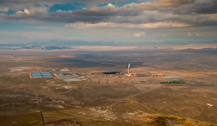 The Intermountain Power Project, site of what could become a major green hydrogen hub for the U.S. West. (credit: Intermountain Power Authority)