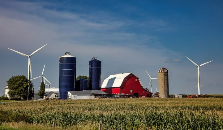 Iowa has seen a rush of wind farm construction in recent years, overburdening the grid in areas.