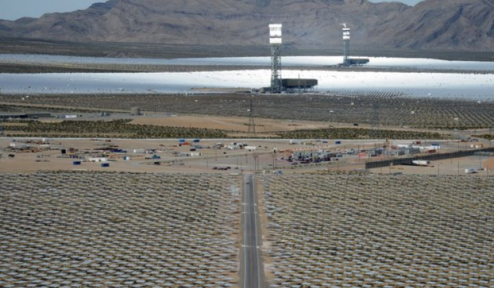 More Problems for CSP: Ivanpah Solar Plant Falling Short of Expected Electricity Production