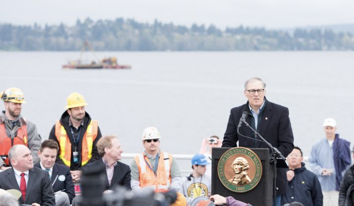 Jay Inslee has a detailed vision for a truly clean economy.