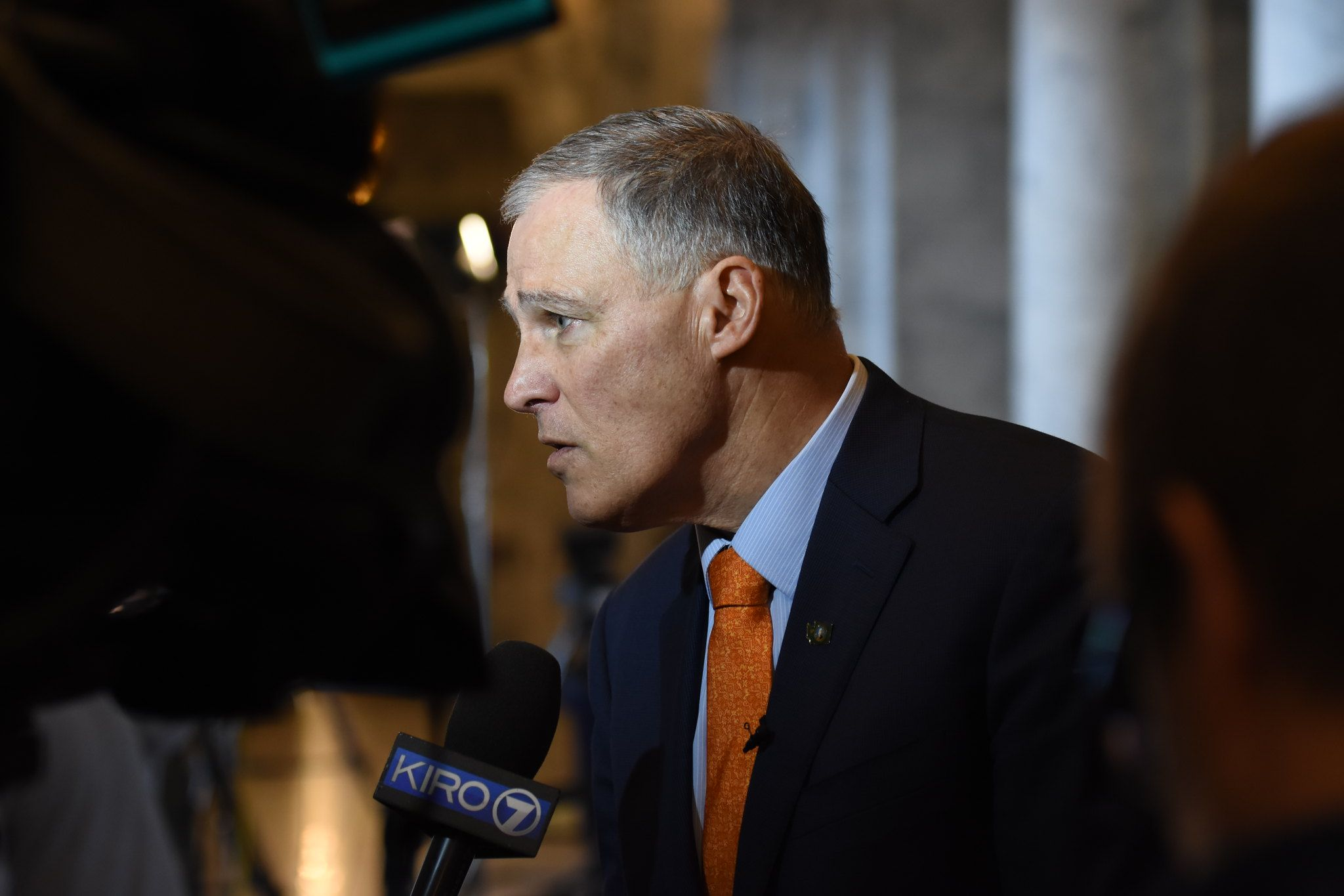 Outside looking in: Inslee is below 2 percent in the polls.
