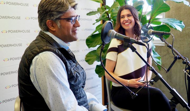 Jigar Shah talks with Emily Kirsch for the Watt It Takes live podcast series.