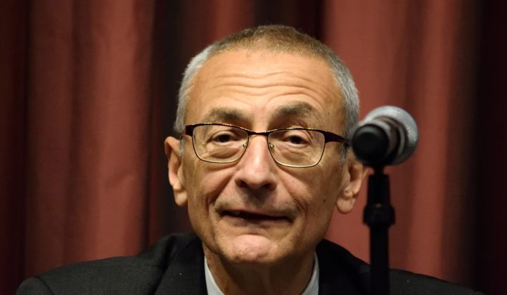 John Podesta: There's No Time Left for 'Moderate' Climate Solutions