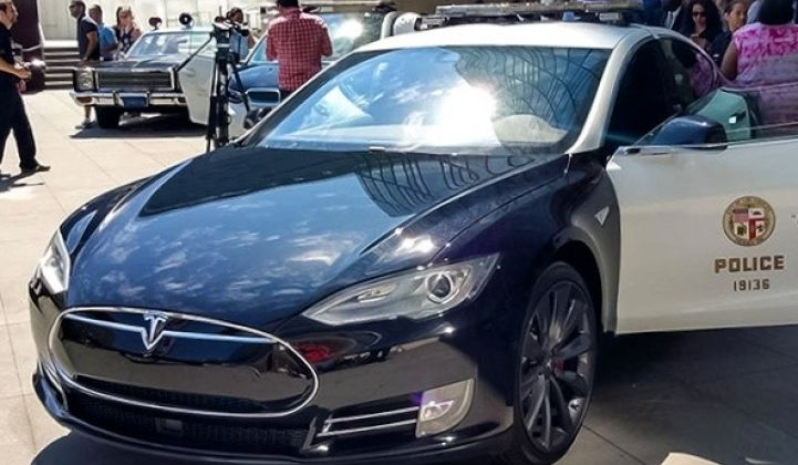 LAPD Could Soon Use Tesla Pursuit Vehicles