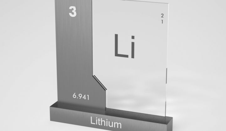 Lithium ion battery chemistry.