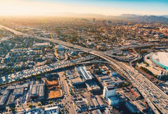 Cities like Los Angeles are pushing to reduce emissions in the absence of federal leadership.
