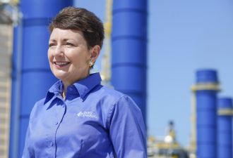 Duke Energy CEO Lynn Good. Duke's upcoming IRP could create opportunities for renewables. (Photo: Duke)