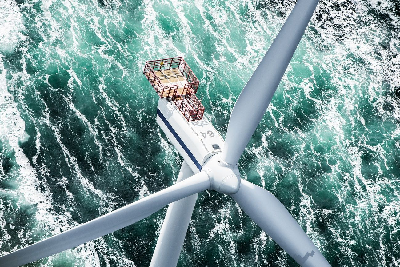Vestas wants to be the global market leader for offshore turbines by 2025. (Credit: MHI Vestas)