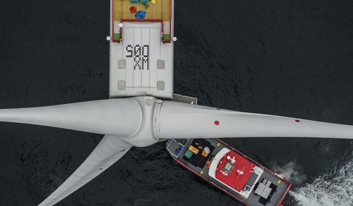 MHI Vestas is supplying Vineyard's first offshore project with turbines. (Credit: MHI Vestas)