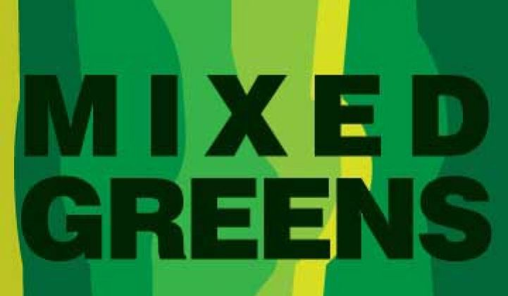 Mixed Greens: GE Adds Smart-Grid-as-Service Customer; Renewables Pray for Sect. 1603 Revival