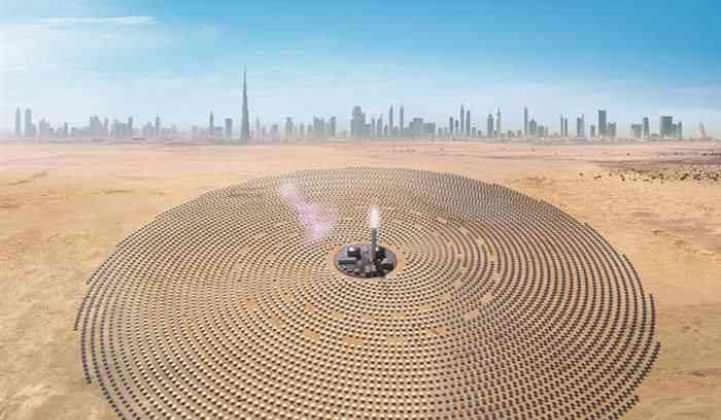 Record-Low CSP Bid in Dubai Ignites Debate Over the Technology's Competitiveness