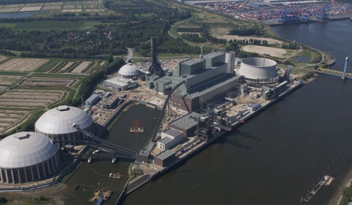 The Moorburg plant is set to close after less than six years in operation. Planning and construction took 11 years. (Credit: Vattenfall)