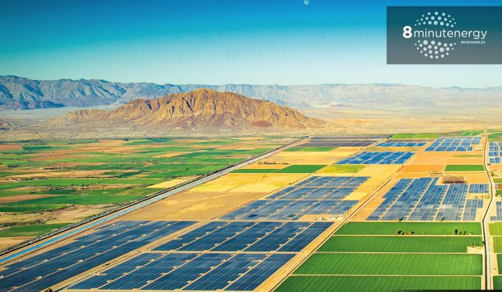 8minutenergy to Start Building the Next Stage of an 800-Megawatt Solar Plant