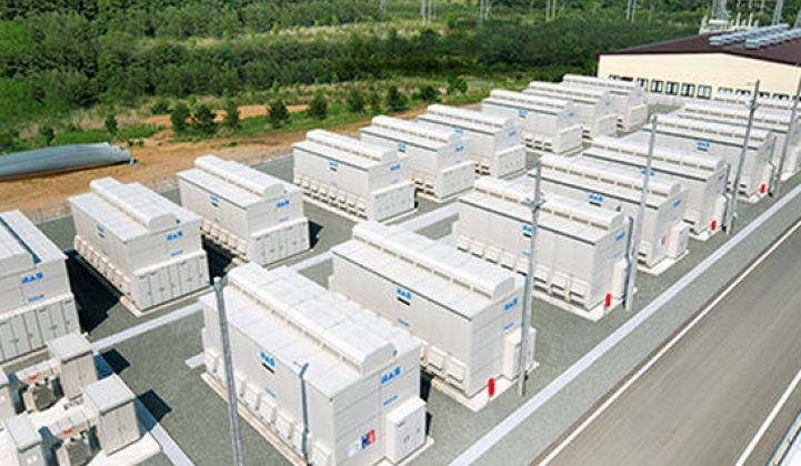 Japanese Utilities Invest in Big Batteries to Help Bring More Renewables On-Line
