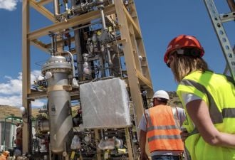 NREL and SoCalGas are finally running their novel power-to-gas system.