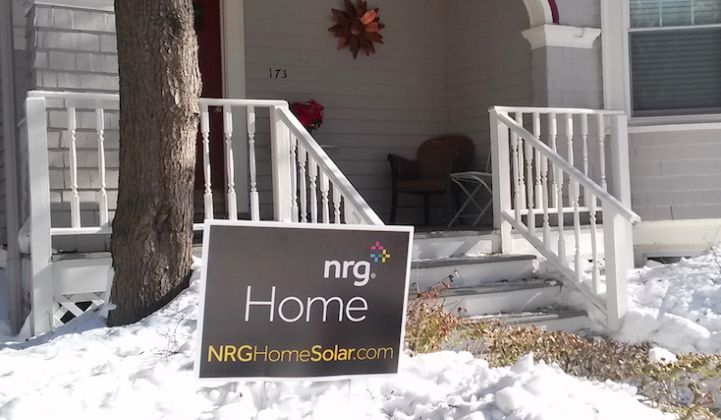NRG Fully Exits the Home Solar Installation Business