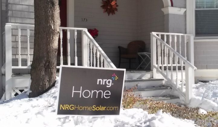 NRG Acquires Verengo Solar's Northeast Sales and Operations Teams