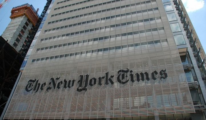 Why the New York Times Building Is Saving So Much Energy