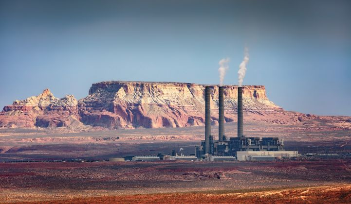 The Navajo Generating Station shut down last fall, leaving transmission capacity that could ship solar power.