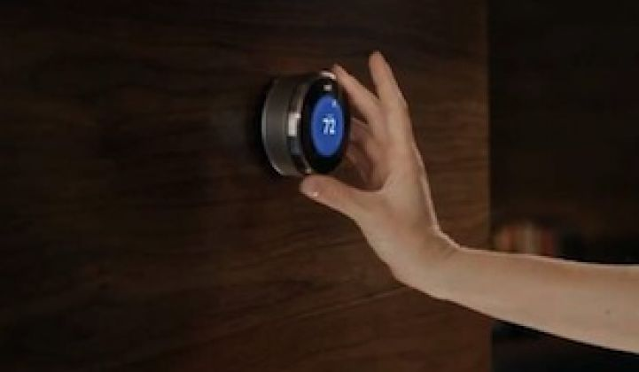 Nest Labs Moves Further Into Residential Demand Response